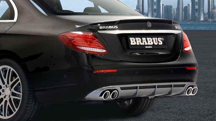 Диффузор для Mercedes-Benz E-Class от Brabus
