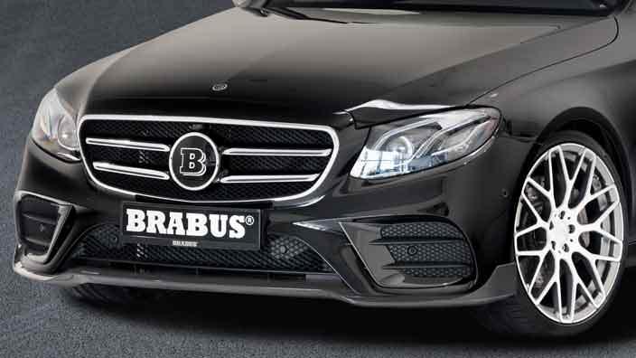 Сплиттер для Mercedes-Benz E-Class от Brabus