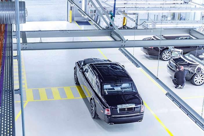 Последний Rolls Royce Phantom VII