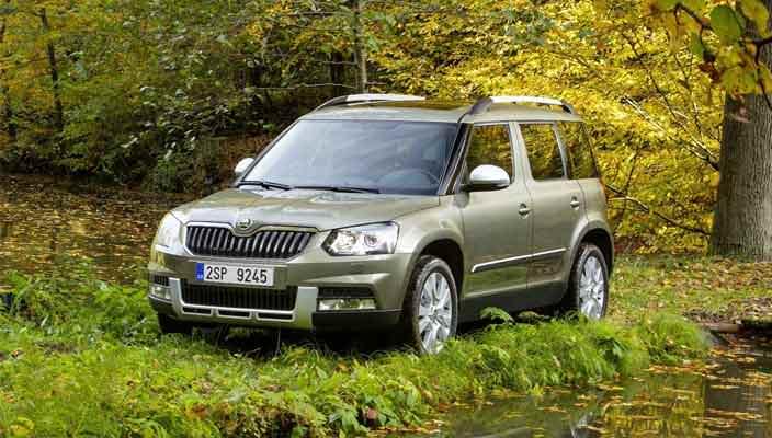 Автомобили Шкода Йети: обзор и характеристики