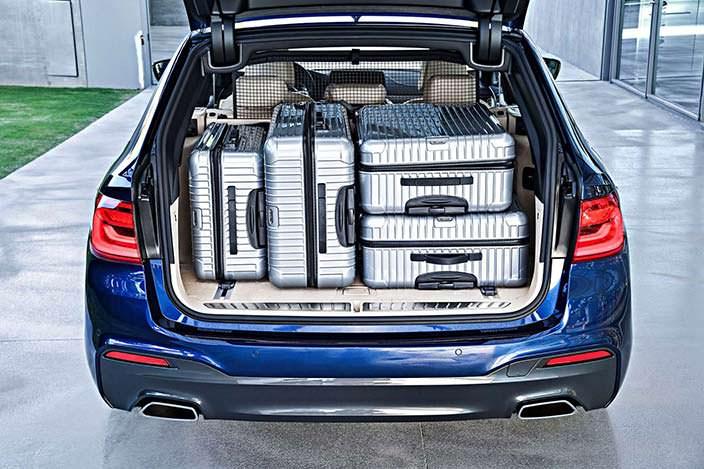 Вместительный багажник BMW 5-Series Touring G31