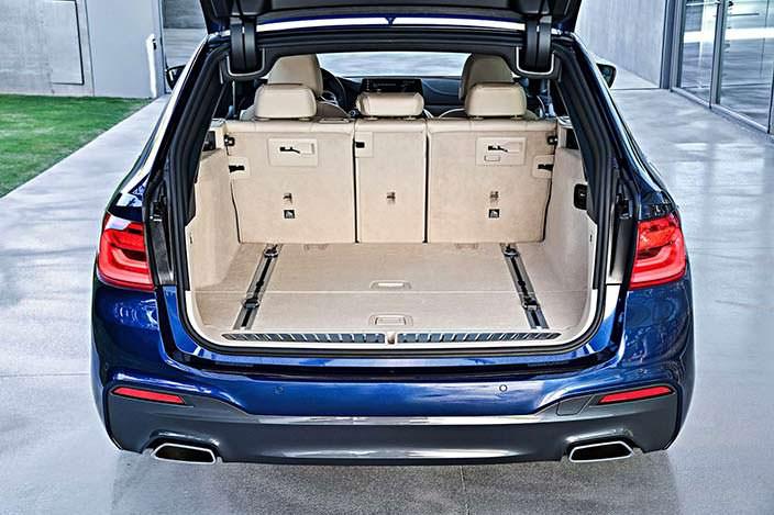 Багажник универсала BMW 5-Series