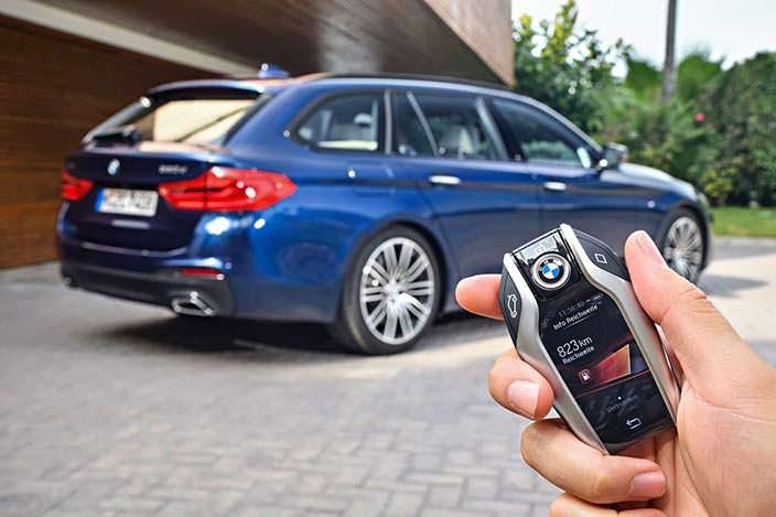 Ключ от BMW 5-Series Touring G31