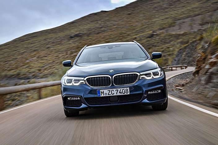 Новая BMW 5-Series Touring
