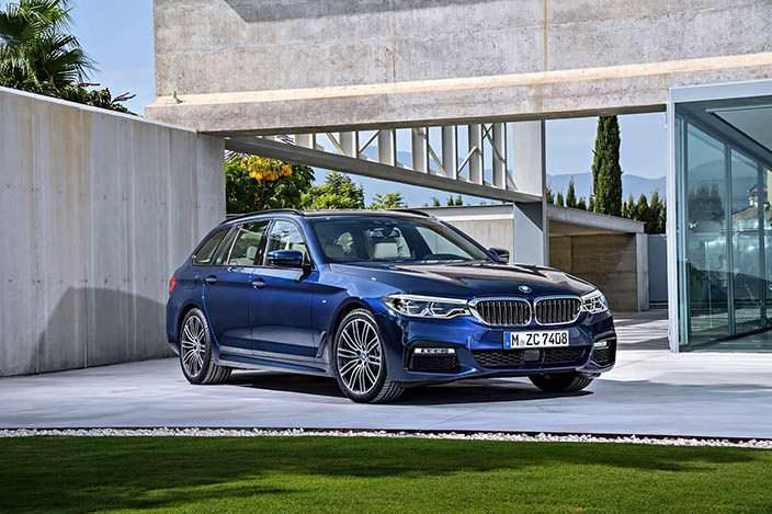 BMW 5-Series Touring седьмого поколения