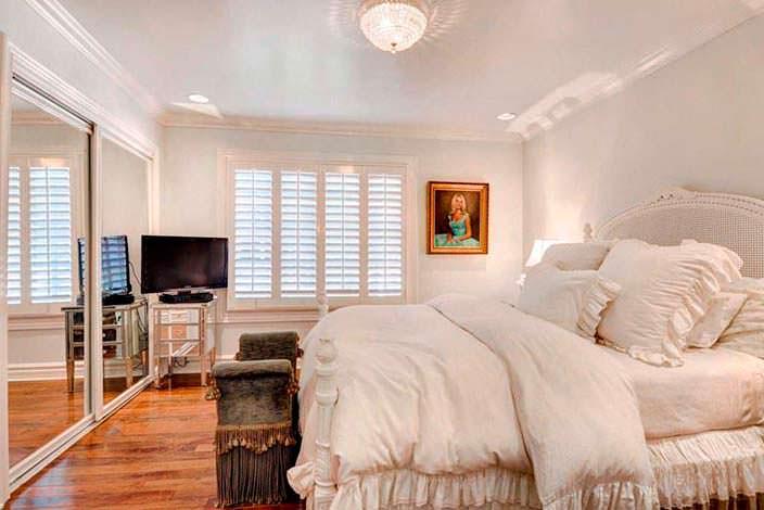 Дизайн уютной спальни