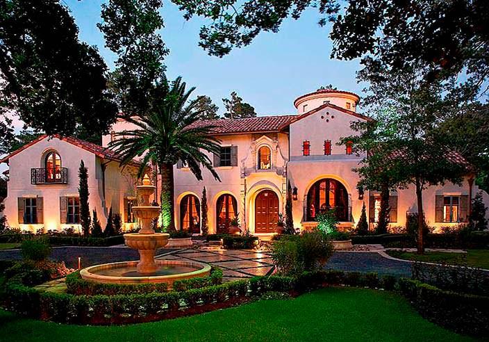 Дом в средиземноморском стиле, арендованный Lady Gaga