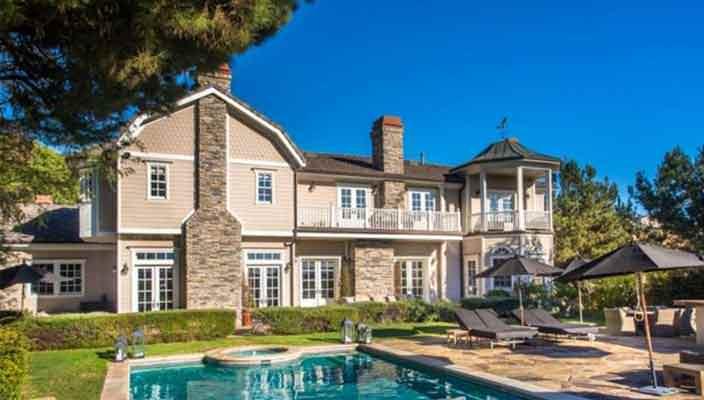 Джессика Альба купила дом в Беверли-Хиллз | фото, цена