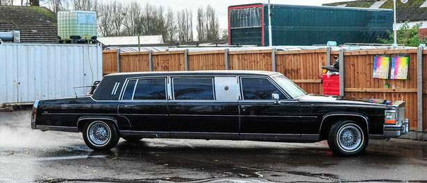 Старый лимузин Дональда Трампа