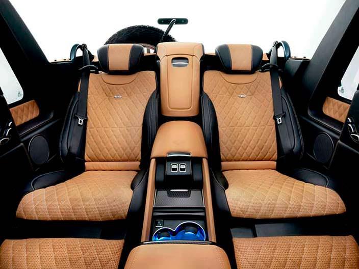 Салон Mercedes-Maybach G 650 Landaulet