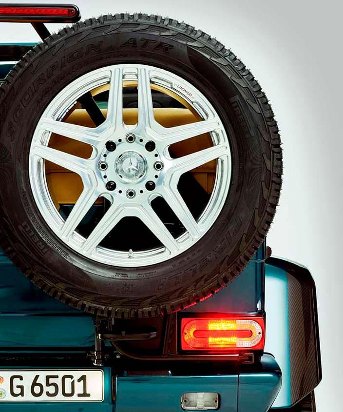 Запасное колесо Mercedes-Maybach