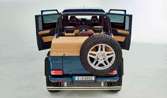 Внедорожник Maybach G 650 Landaulet