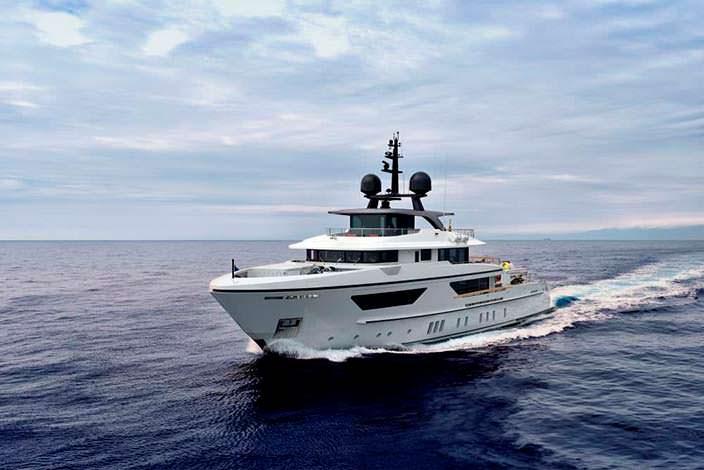 Экспедиционная яхта Sanlorenzo 460EXP
