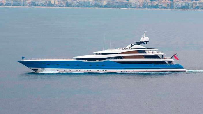 Яхта Madame GU