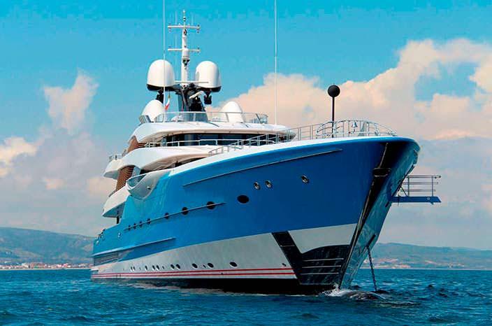 Яхта Feadship Madame GU