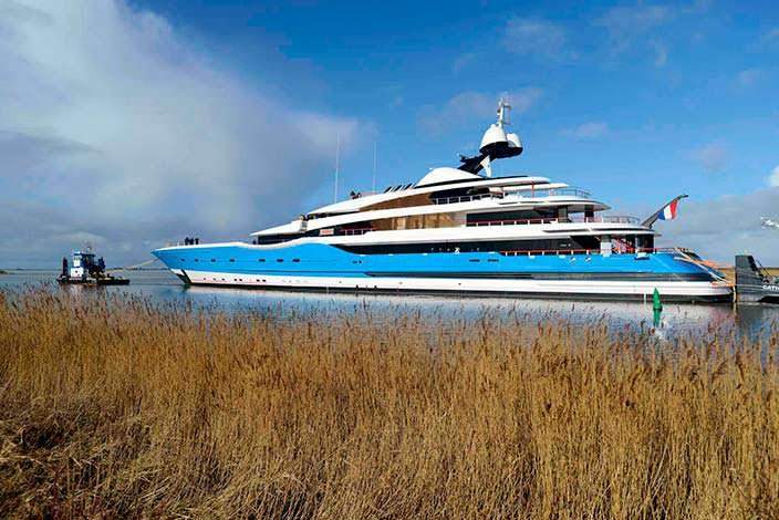 Яхта Андрея Скоча Madame GU