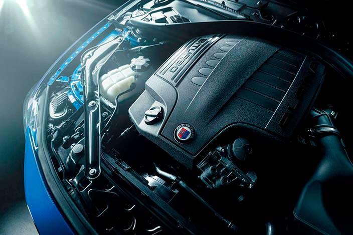 Битурбо двигатель BMW Alpina B4 S