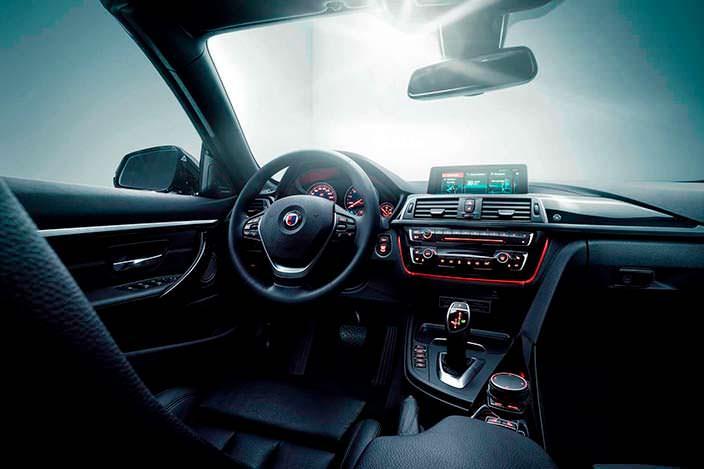 Салон BMW Alpina B4 S Bi-Turbo