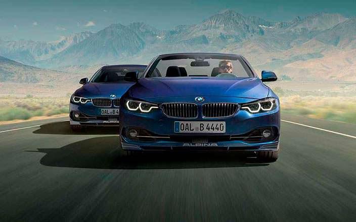 Тюнинг BMW 4-Series F32 и F33 от Aplina