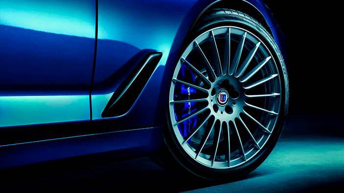 20-дюймовые колеса Alpina на BMW 5-Series G30 и G31