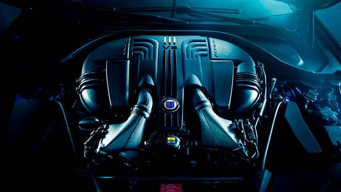 Би-турбо двигатель V8 на 4,4-литра от Alpina
