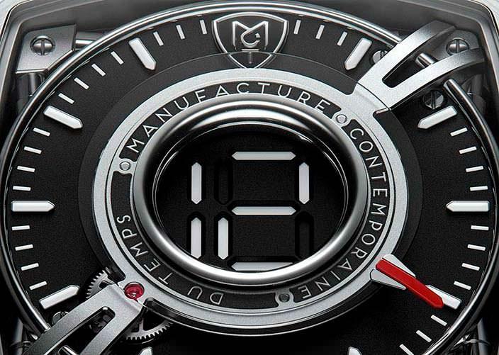 Титановые швейцарские часы MTC Dodekal One D110