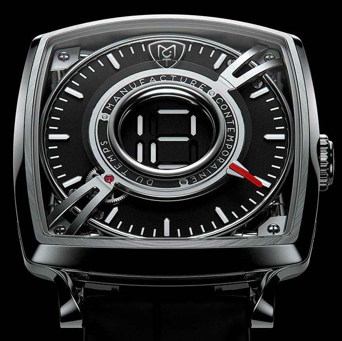 Часы в титановом корпусе MTC Dodekal One D110