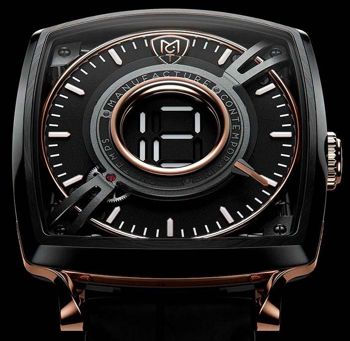 MTC Dodekal One D110: часы в титане и золоте