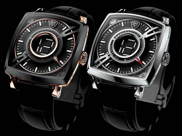 Титановые и золотые часы MCT Dodekal One D110