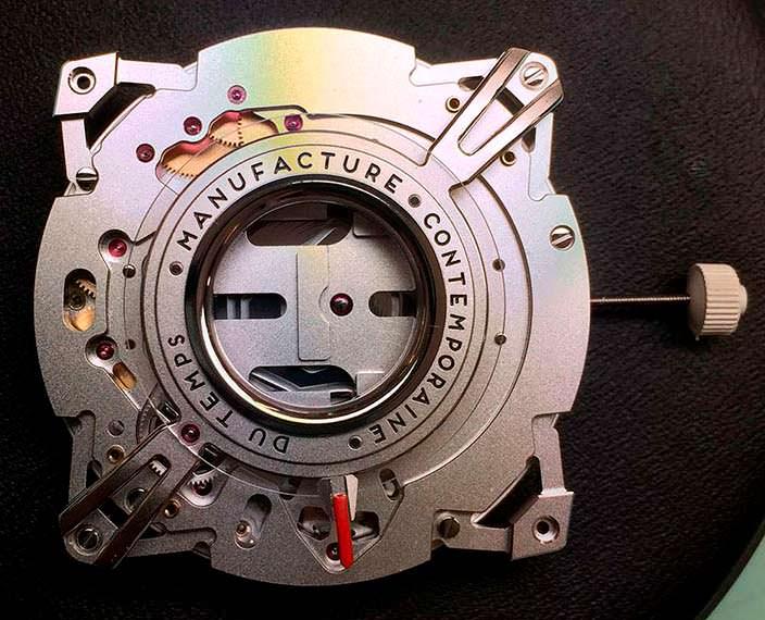 Часовой калибр MCT-D1