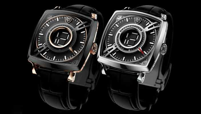 MCT Dodekal One D110: стильные швейцарские часы в титане