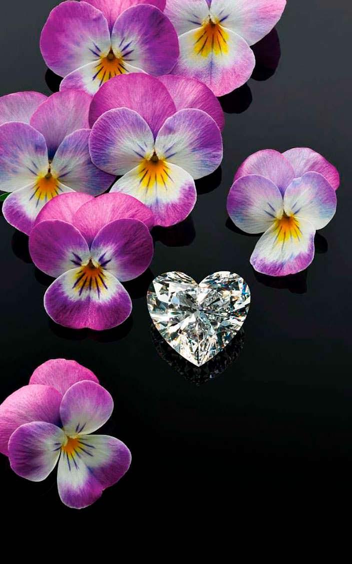 Алмаз в виде сердца от Chopard. Вес 26 карат