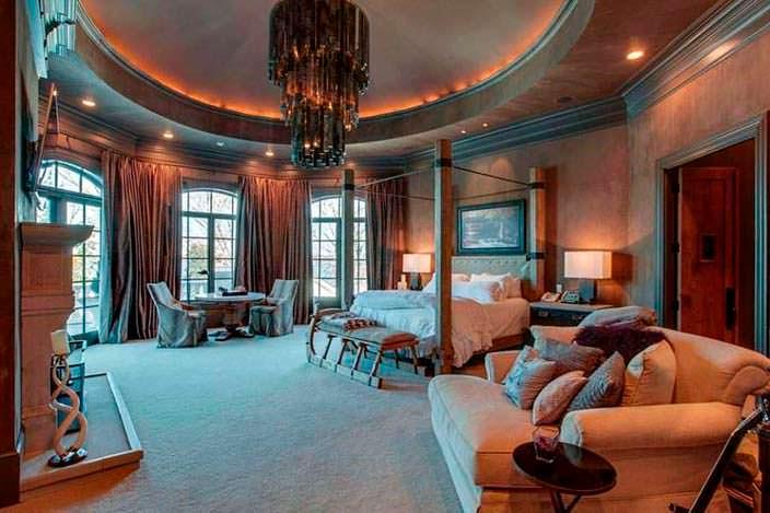 Дизайн огромной спальни