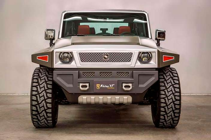 USSV Rhino XT из Jeed Wrangler Unlimited