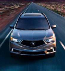 Кроссовер Acura MDX Sport Hybrid: первый гибрид марки