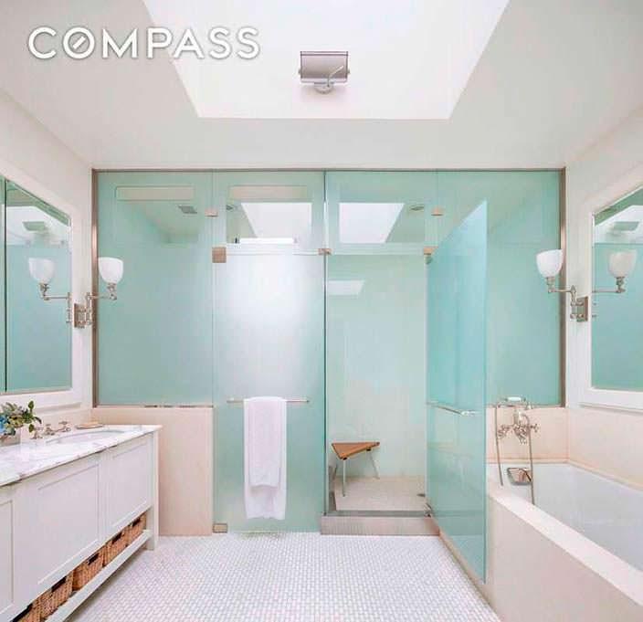 Паровой душ в ванной