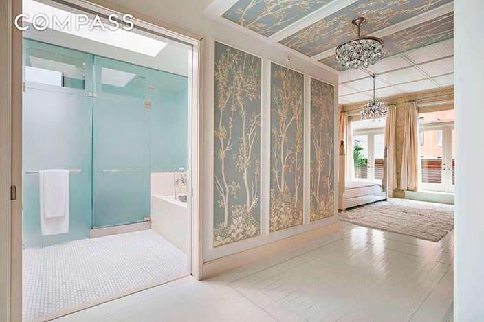 Проект спальни с ванной