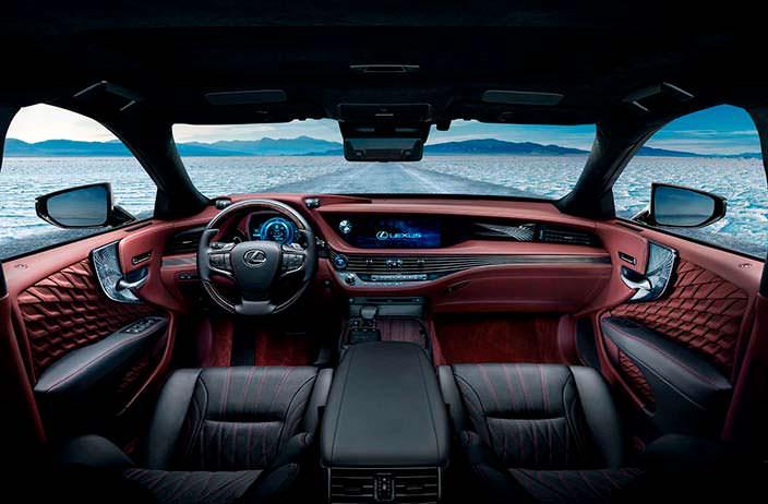 Интерьер Lexus LS 500h