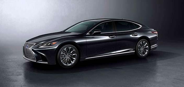 Новый Lexus LS 500h