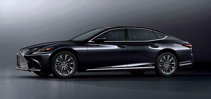 Гибридный седан Lexus LS 500h нового поколения