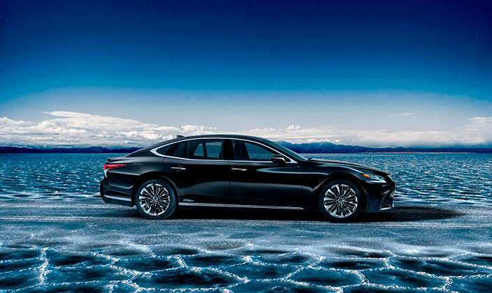Гибрид Lexus LS 500h нового поколения