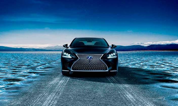 Новый гибрид Lexus LS 500h