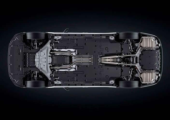 Днище Lexus LS 500h