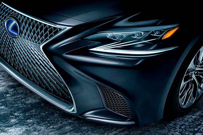 Фары Lexus LS 500h