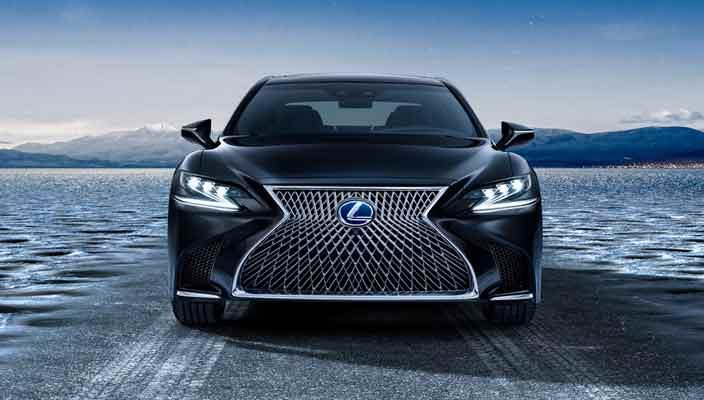 Флагманский седан Lexus LS стал гибридом | фото, инфо