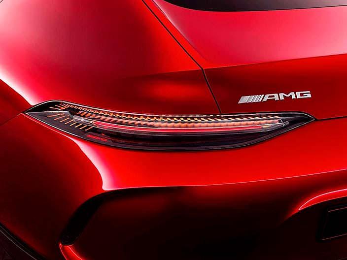 Задние фонари Mercedes-AMG GT Concept
