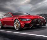 Mercedes-AMG GT Concept: ответ Porsche Panamera | фото, видео