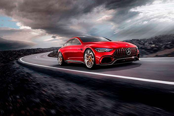 Новый Mercedes-AMG GT Concept 2017
