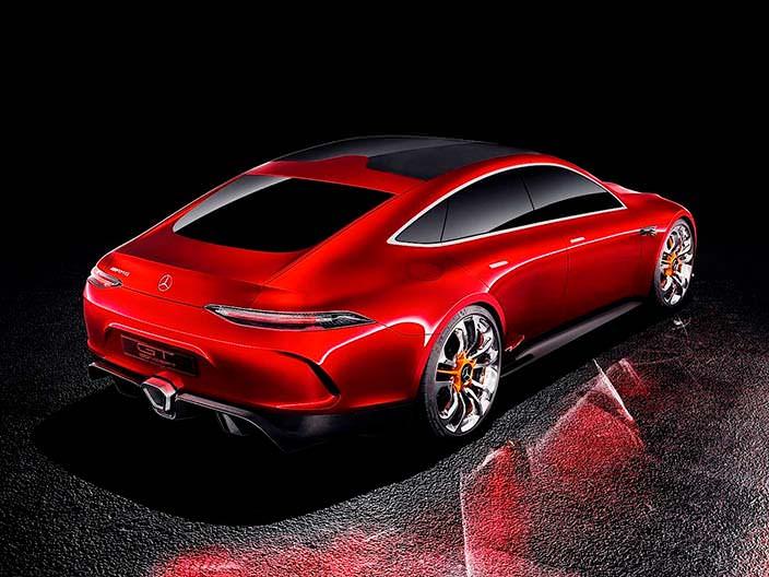 Новый Mercedes-AMG GT Concept