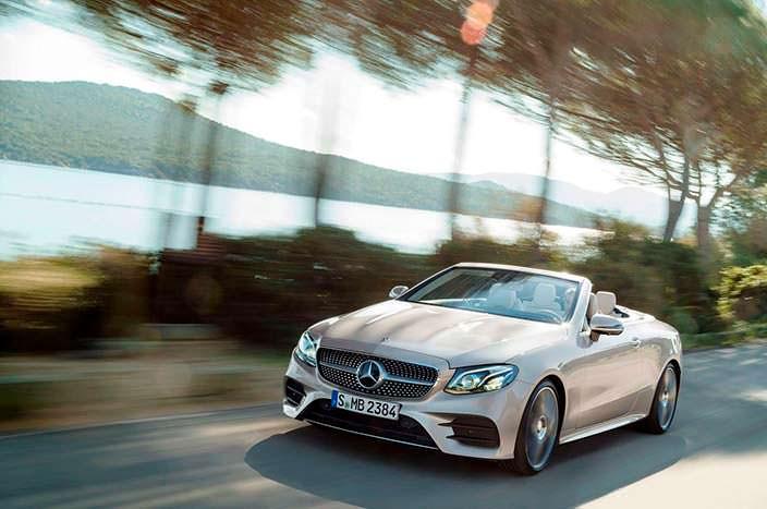 Новый Mercedes-Benz E-Class Convertible W213